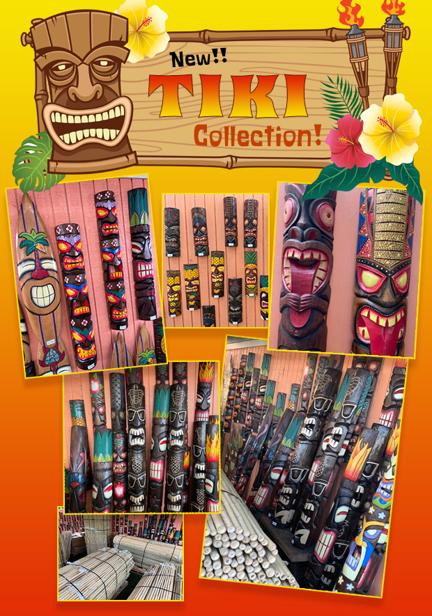 Check out our NEW Tiki Collection!