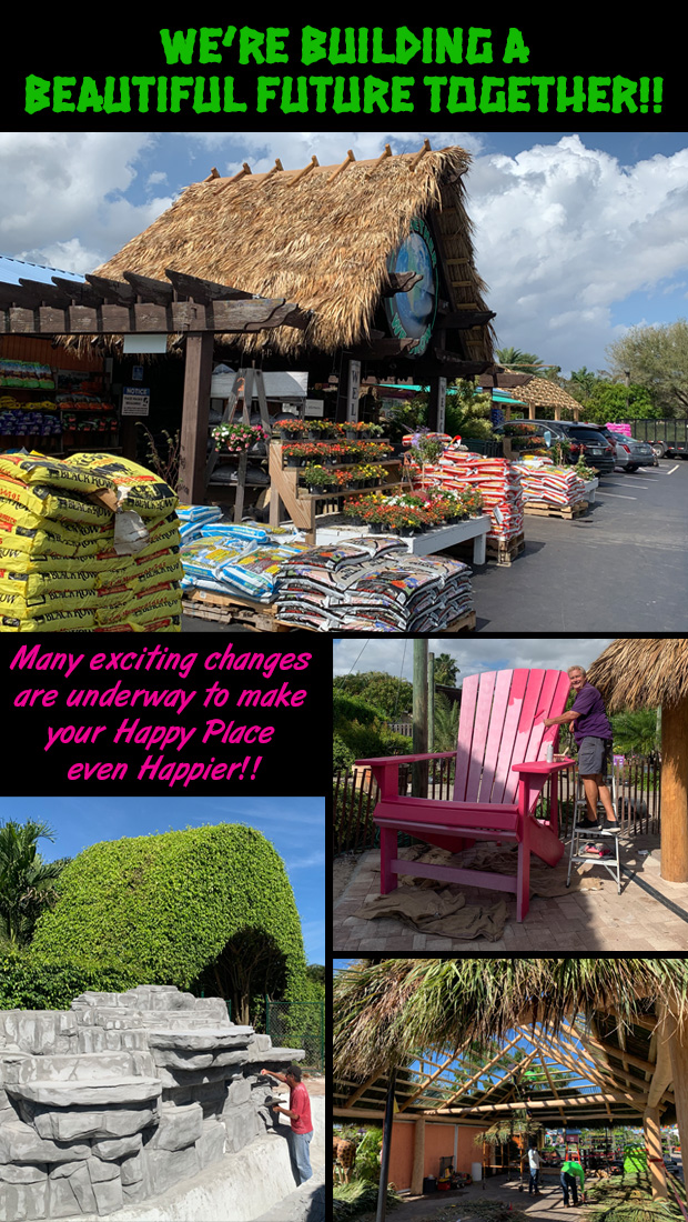 We're Building A Beautiful Future Together!! Many exciting changes are underway to make your Happy Place even Happier!!