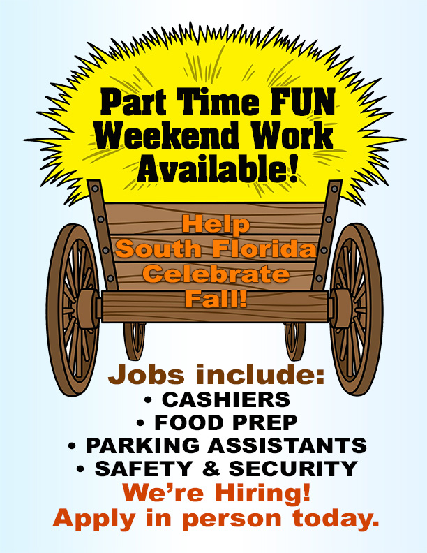 Part time fun weekend work available! We are hiring now. Join our team today!