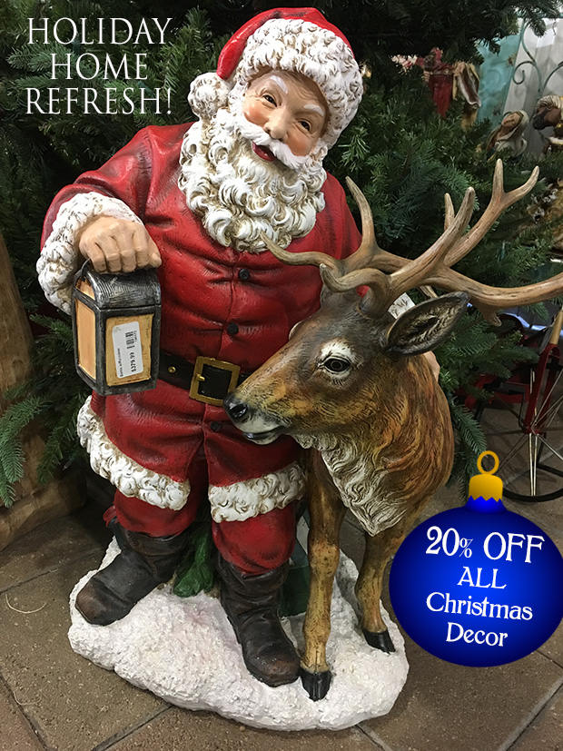 20% off all Christmas Decor!
